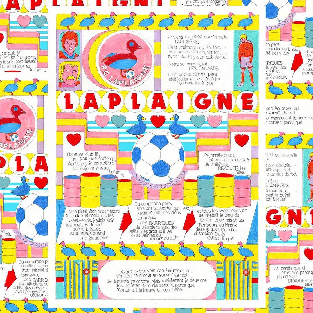 STÉPHANE DE GROEF support print
